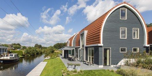Watervilla 10LZ in Midlaren - Drenthe - Nederland - 10 personen - aan het water