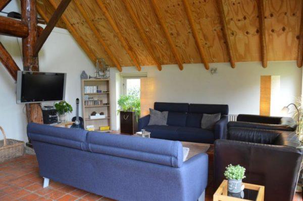 Boerderij Oud Avereest in Balkbrug - Overijssel - Nederland - 16 personen - woonkamer