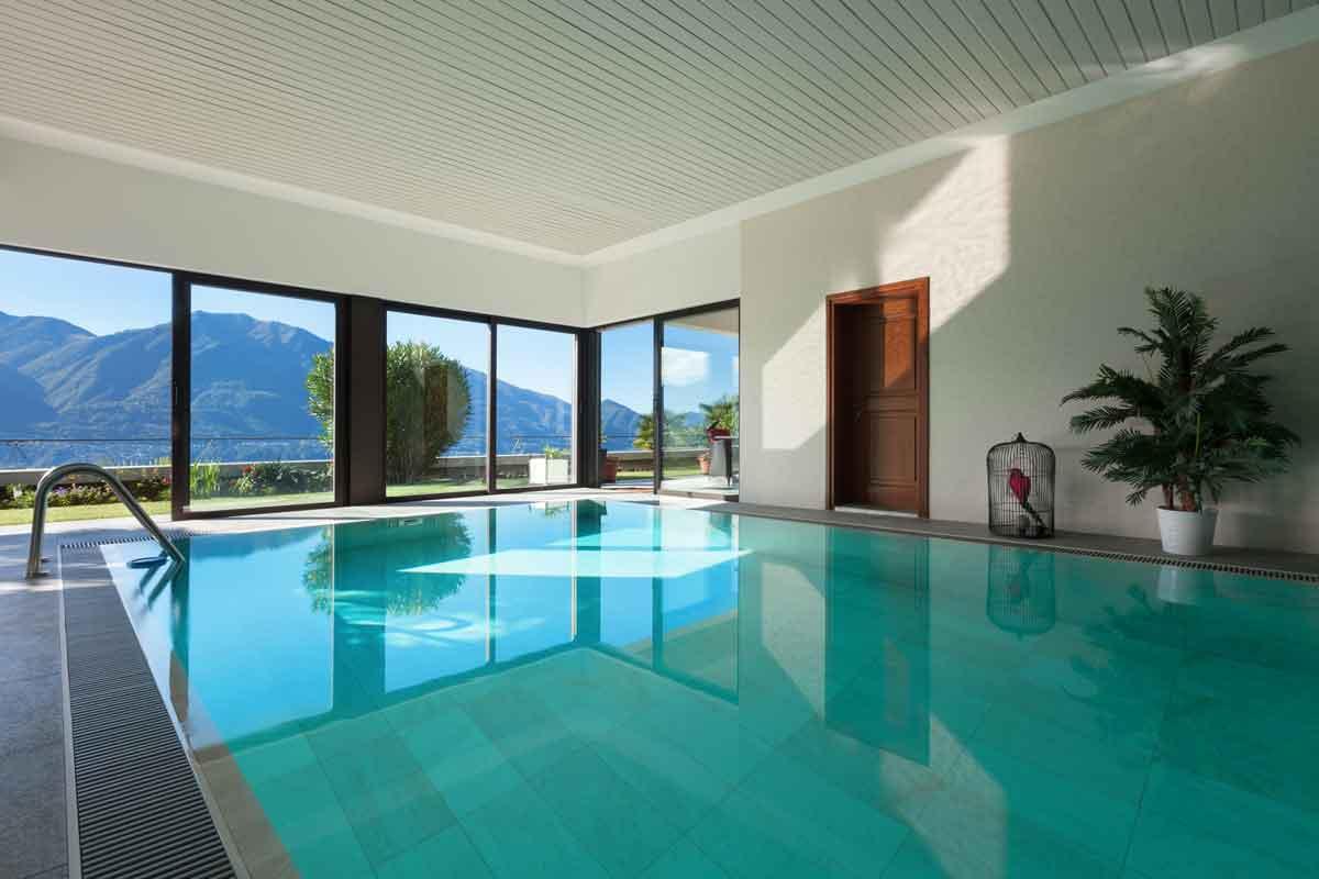 modern vakantiehuis met binnenzwembad Ardennen