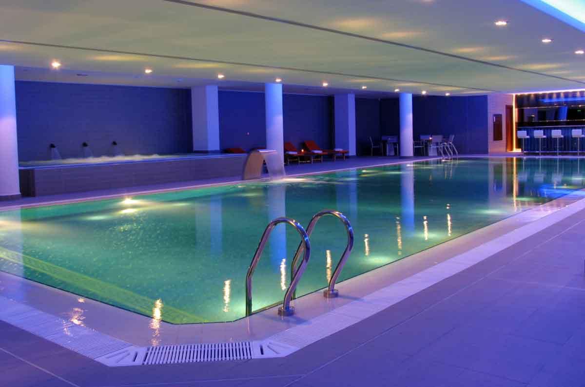 vakantiehuis met indoor zwembad