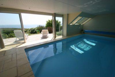 Villa Ar-Men in Clohars-Carnöet - Bretagne - Frankrijk - 8 personen - binnenzwembad