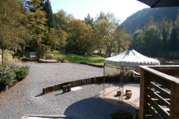 Villa L'Amblève in Stoumont - Ardennen - België - 30 personen - tuin