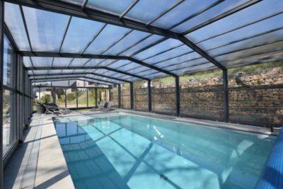 Villa Le Lodge à 8 Brins in Nadrin - Ardennen - België - 18 personen - overdekt zwembad
