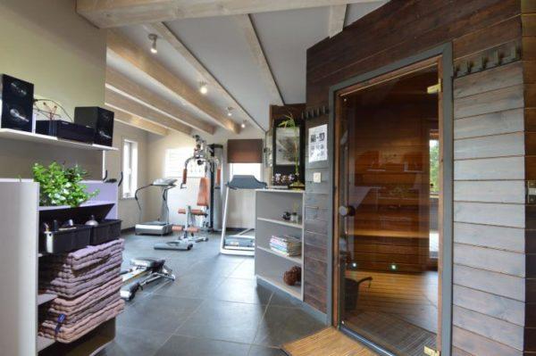 Villa Le Lodge à 8 Brins in Nadrin - Ardennen - België - 18 personen - sauna en fitness
