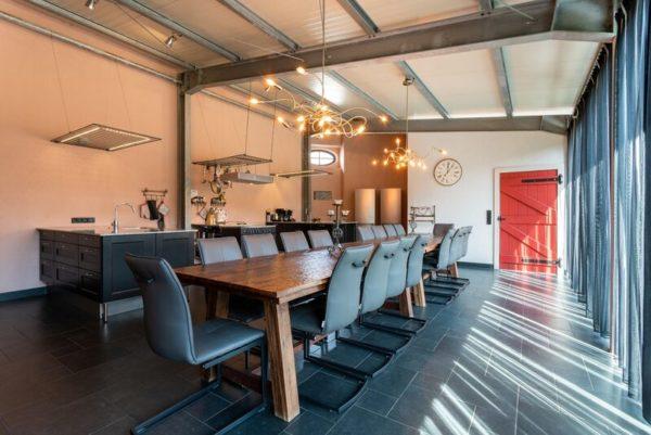 Villa Waldeifel - Eifel - Duitsland - 18 personen - keuken eetruimte