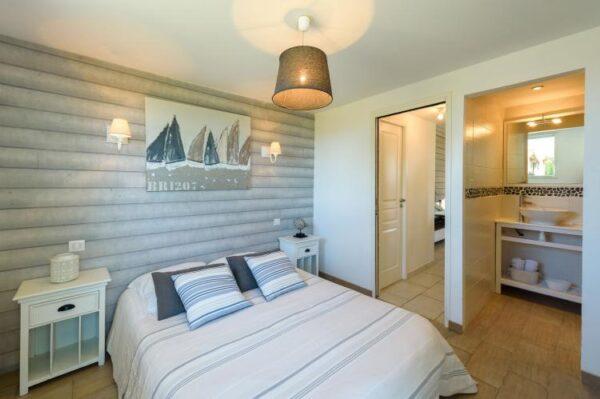 Brise Marine in Brignogan/Plage - Frankrijk - Bretagne - 10 personen - slaapkamer