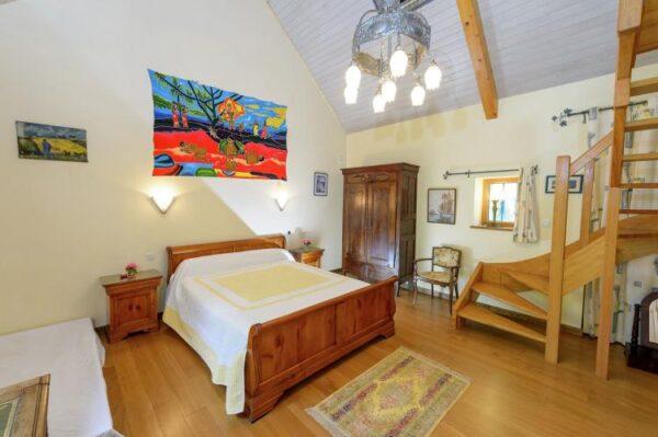 Kergallic in Plounéour-Trez - Frankrijk - Bretagne - 8 personen - slaapkamer
