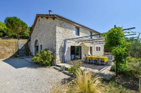 Maison avec piscine intérieure in Espere - Frankrijk - Midi-Pyreneeën - 8 personen - huis