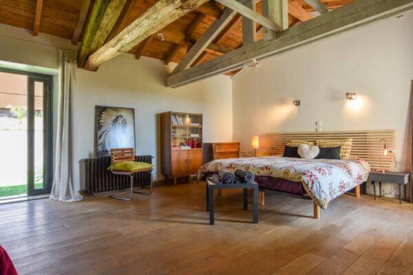 Maison avec piscine intérieure in Espere - Frankrijk - Midi-Pyreneeën - 8 personen - slaapkamer