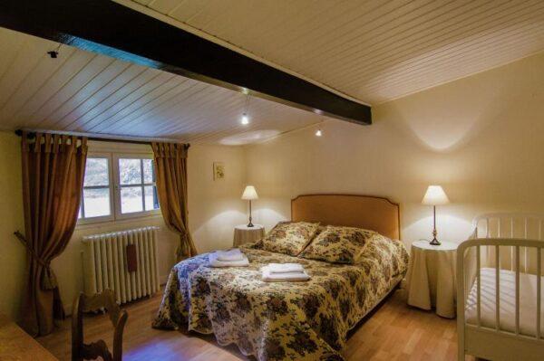 Métairie du Vignaud 16P in Bourgnac - Frankrijk - Dordogne -16 personen - slaapkamer