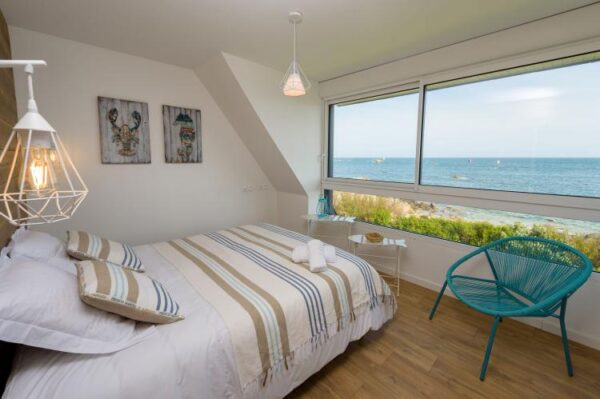 Neptune in Brignogan Plage - Frankrijk - Bretagne - 12 personen - slaapkamer