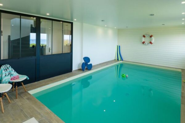 Neptune in Brignogan Plage - Frankrijk - Bretagne - 12 personen - zwembad