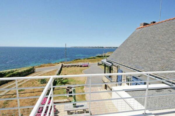 Villa Perle in Moelan sur mer - Bretagne - Frankrijk - 8 personen - uitzicht op zee