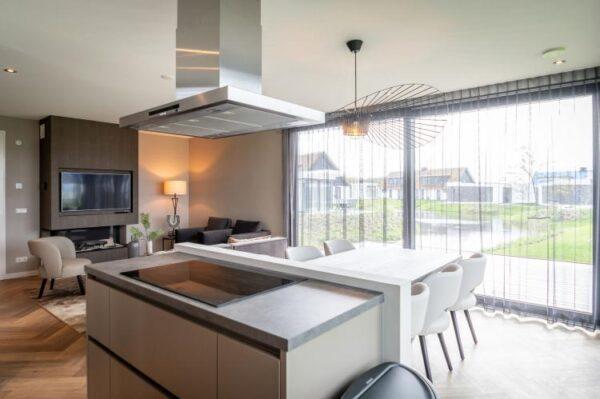 Villapark De Koog 3 in De Koog - Waddeneilanden - Nederland - 6 personen - lichte woonkamer