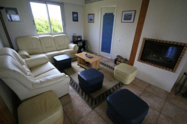 Visu in Moëlan sur mer - Frankrijk - Bretagne - 10 personen - woonkamer